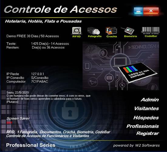Software Portaria Hotel Controle de Acessos para Hotel Hotéis Flat Foto Web Cam