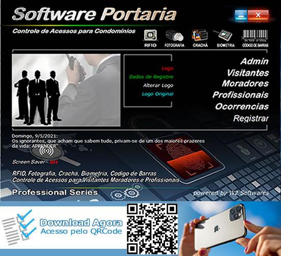 Software Portaria Controle de Acesso Condomínios Foto Biometria RFID