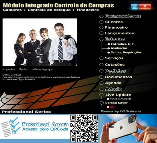 Software de Compras Cotações Pedidos Almoxarifado Compras Financeiro