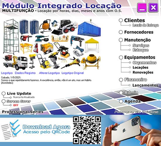 Software locação de equipamentos com ordem de serviços