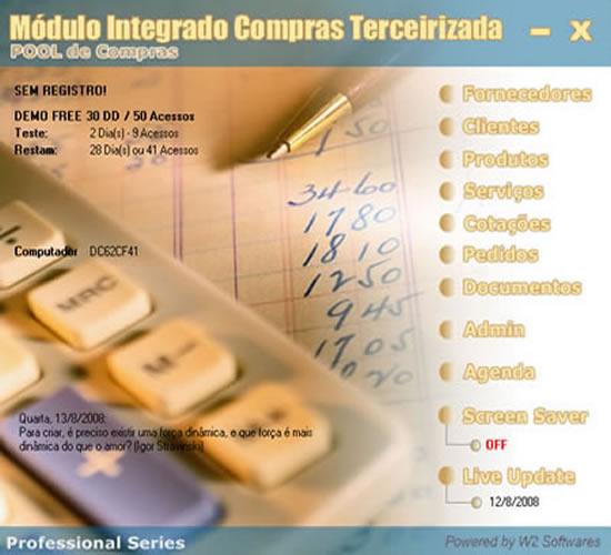 Software Compras Terceirizada Pool de Compras e Comissões
