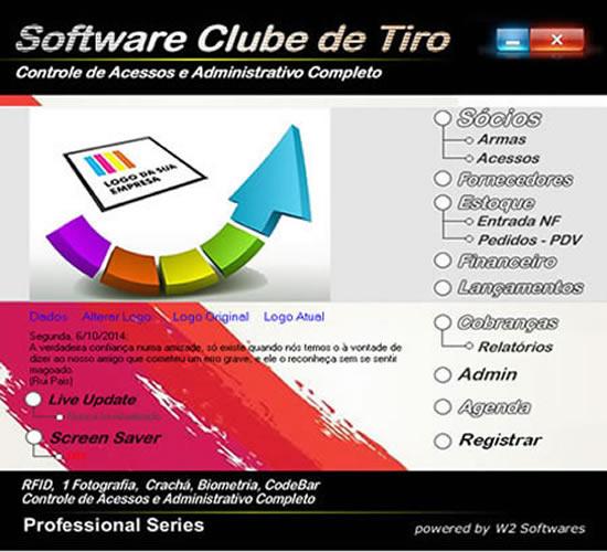 Software para Clubes de Tiro Controle de Acesso  Cobrança