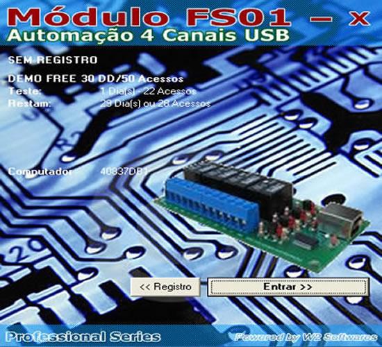 Software automação residencial industrial Acionamento de lampadas motores automação