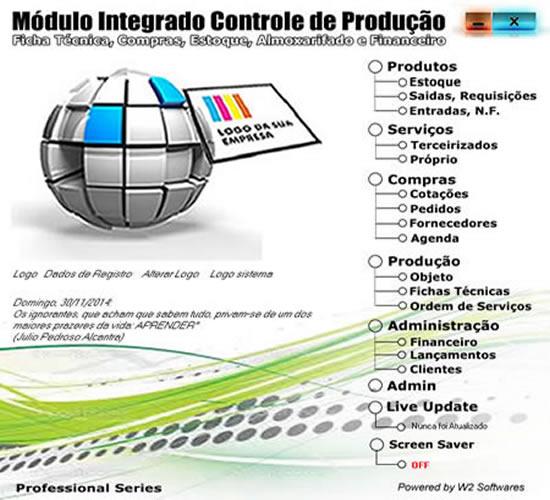 Software  de produção Software para produção