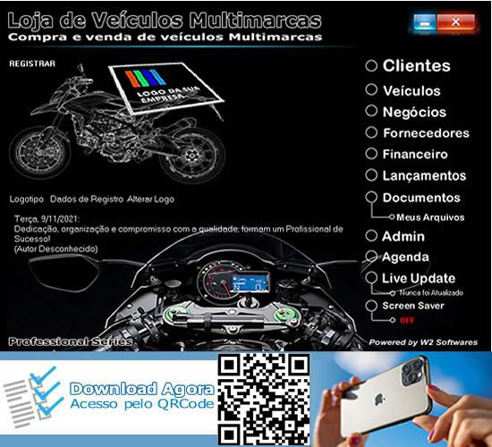 Software loja de motos motocicletas comércio de motocicletas