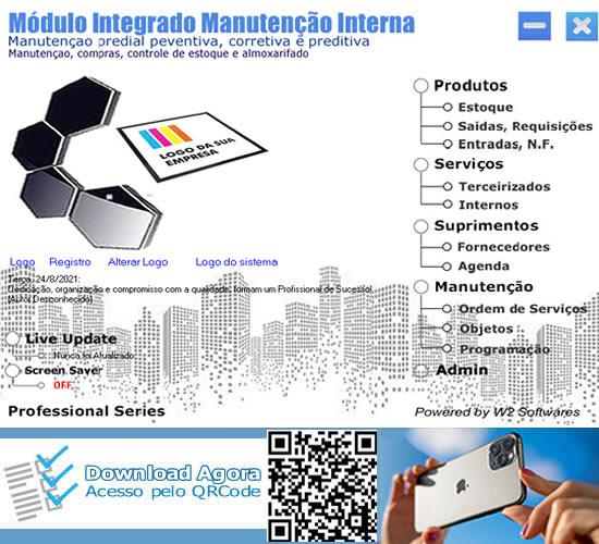 Software manutenção predial interna manutenção e compras