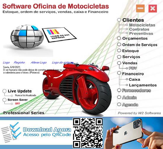 Software oficina de motos oficina de motocicletas O.S.